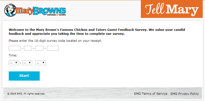 Mary Brown's Customer Experience Survey