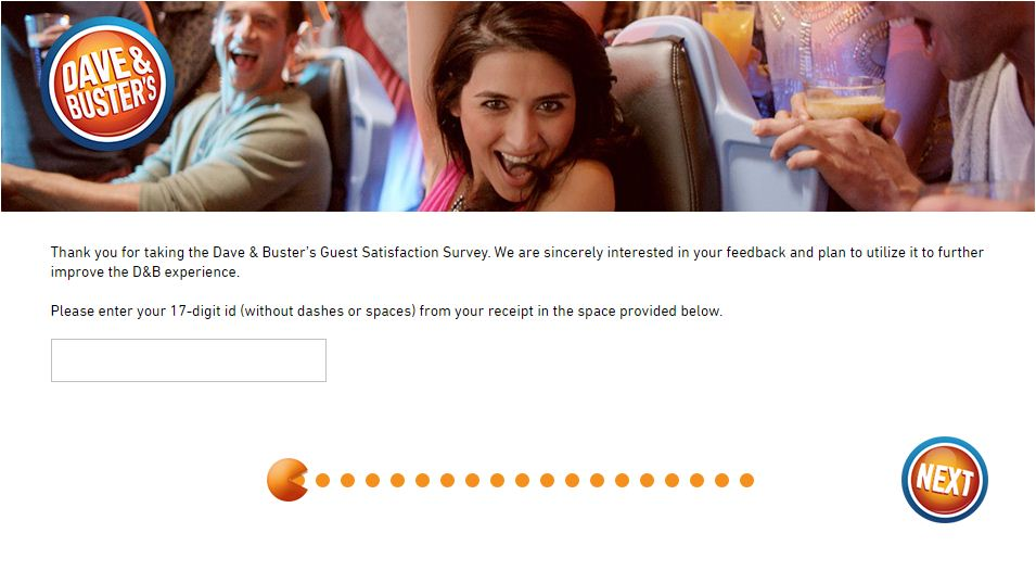 Dave & Buster's Survey